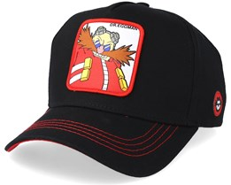 Sonic The Hedgehog Knuckles Red/Black Trucker - Capslab