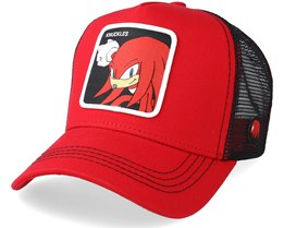 Sonic The Hedgehog Dr Eggman Black/Red Adjustable - Capslab