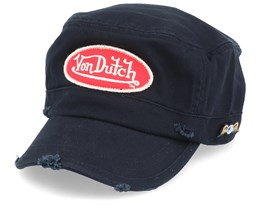 Oval Patch Black/Red Army - Von Dutch