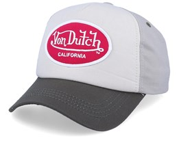 Oval Patch Beige/Bordeaux Adjustable - Von Dutch
