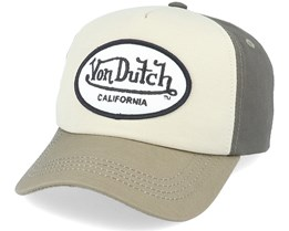 OVal Patch Toi Khaki/Olive Adjustable - Von Dutch