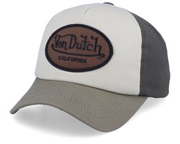 Oval Patch Beige/Olive Adjustable - Von Dutch