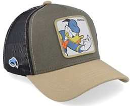 Disney Donald Duck Olive/Beige/Black Trucker - Capslab