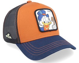 Disney Scrooge McDuck Brown/Navy/Black Trucker - Capslab