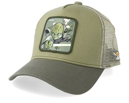 Star Wars Yoda Green/Green Trucker - Capslab