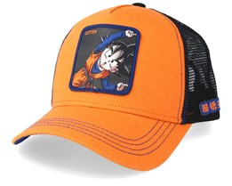Dragon Ball Goten Orange/Black Trucker - Capslab