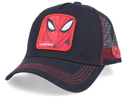 Marvel Spider-man Black/Black/Red Trucker - Capslab