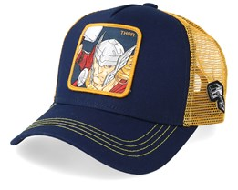 Marvel Thor Navy/Gold Trucker - Capslab