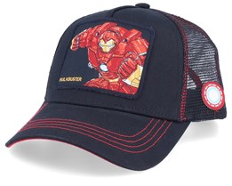 Marvel Hulkbuster Black/Black/Red Trucker - Capslab