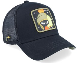 Looney Tunes Marvin the Martian Black/Black Trucker - Capslab