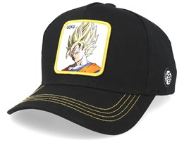 Dragon Ball Goku Super Saiyan Black/Black/Yellow Adjustable - Capslab