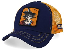 Dragon Ball Goku Royal/Orange Trucker - Capslab