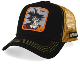 Dragon Ball Goku Black/Orange Trucker - Capslab