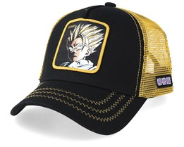 Dragon Ball Gohan Black/Gold Trucker - Capslab