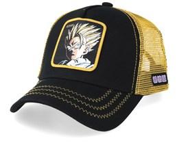 Dragon Ball Gohan Black/Gold Trucker - Capslab