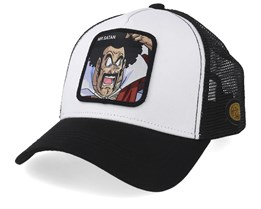 Dragon Ball Mr Satan White/Black Trucker - Capslab