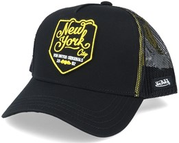 New3 Black/Yellow Trucker - Von Dutch
