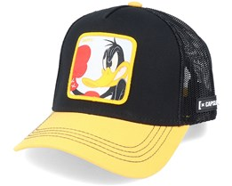 Looney Tunes Daffy Duck Black/Yellow Trucker - Capslab