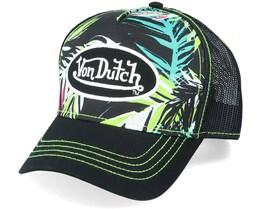 AhigAop Black/Print Trucker - Von Dutch