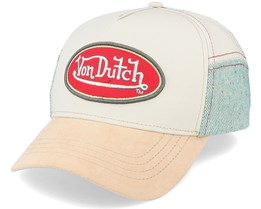 Aluc Beige/Teal Adjustable - Von Dutch