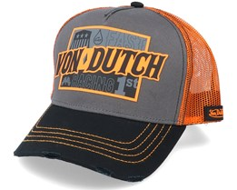 Arac Grey/Orange/Black Trucker - Von Dutch