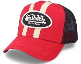 Stripes Red/Black Trucker - Von Dutch