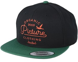 Sudbury Black/Green Snapback - Picture