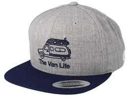 Roy Grey Snapback - Picture