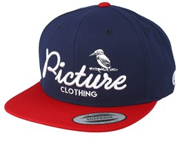Martin Dark Blue Snapback - Picture