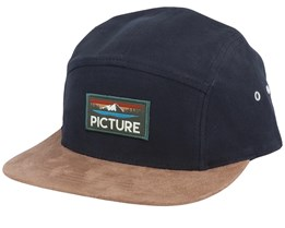 Standford Black/Brown Suede 5-Panel - Picture