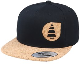 Narrow A Black/Cork Snapback - Picture
