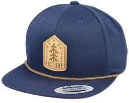 United Dark Blue Strapback - Picture