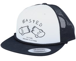 Broke White/Black Trucker - Picture