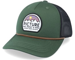 Kuldo Pine Green/Black Trucker - Picture