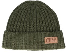 Ship Beanie B Army Green Cuff - Picture
