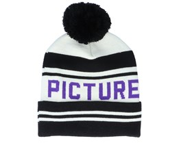 Casu Beanie A Black/White Pom - Picture