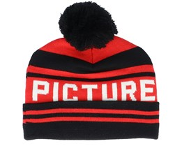 Kids Karlittle B Red/Black Pom - Picture