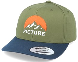 Meadow Bb B Army Green/Navy Adjustable - Picture
