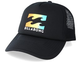 Podium Black/Yellow Trucker - Billabong