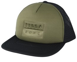 Die Cut Millitary/Black Trucker - Billabong