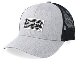 Walled Heather Grey/Black Trucker - Billabong