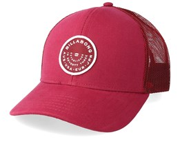 Walled Maroon Trucker - Billabong