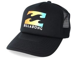 Kids Podium Black Trucker - Billabong