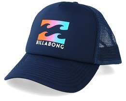 Podium Navy/Coral Trucker - Billabong