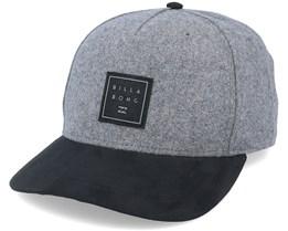 Stacked Up Grey/Black Adjustable - Billabong