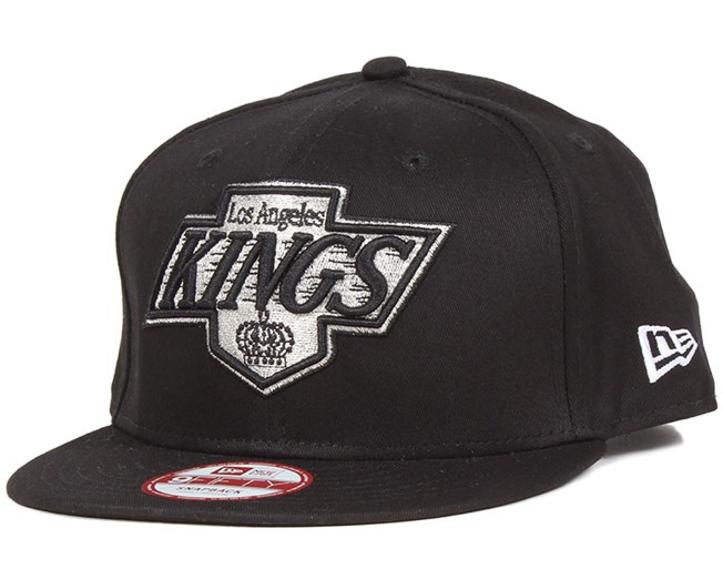 check out d08fa 90f18 LA Kings NHL Black Basic 9Fifty Snapback - New Era