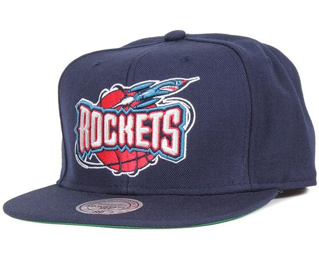 ab3327f3f Houston Rockets Wool Solid Snapback - Mitchell & Ness caps ...