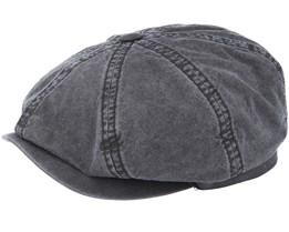 Hatteras Delave Organic Cotton Grey Flat Cap - Stetson