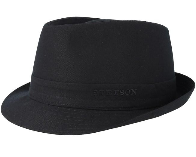 3ef37662 Cotton Black Trilby - Stetson hats - Hatstoreaustralia.com