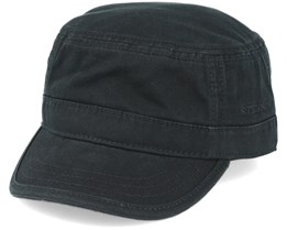 Army Cotton Black Fitted - Stetson